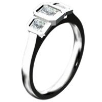 CAD Entwurf eines Verlobungsrings