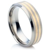 trauringe und m nner ringe aus titan mit inlay aus gold oder silber. Black Bedroom Furniture Sets. Home Design Ideas