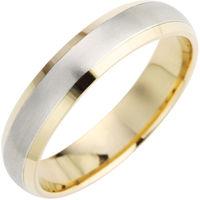 Ein Ehering aus Silber